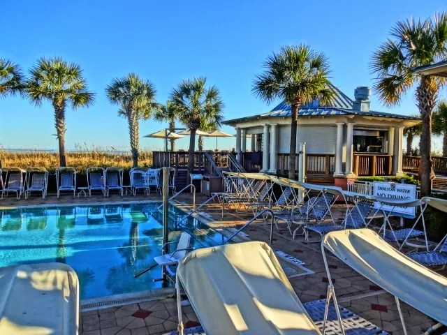 Marriott SurfWatch Oceanfront Pool on Hilton Head South Carolina