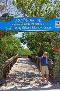 """J. N. """"Ding"""" Darling National Wildlife Refuge Entrance on Sanibel Island"""