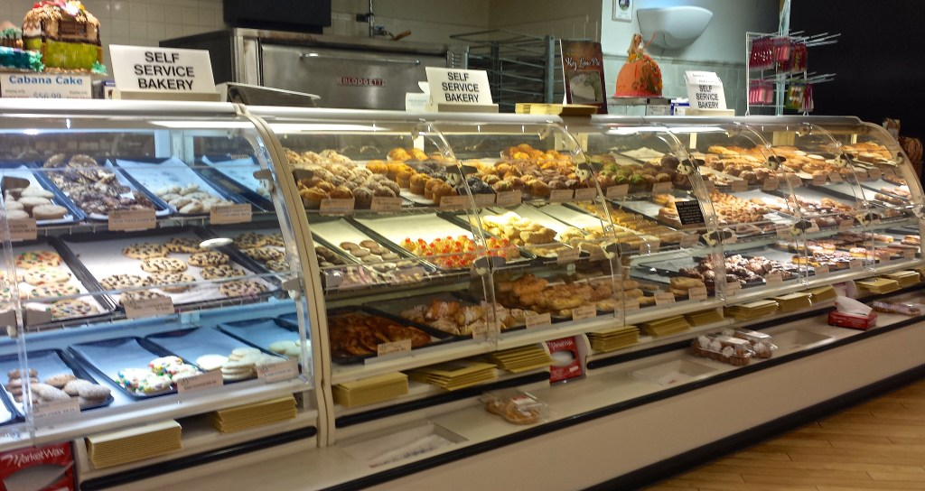 Yummy Pastries at Jerry's Foods on Sanibel Island