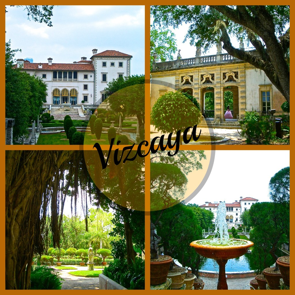 Vizcaya Museun and Gardens on Biscayne Bay, Miami Florida