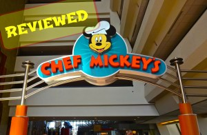Entrance to Chef Mickey's Character Dining at WDW Contemporary Hotel