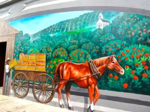 Lake Placid Mural: Our Citrus Heritage