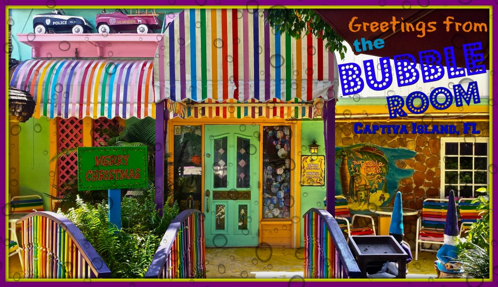 The Bubble Room on Captiva Island - A Kitsch Eatery