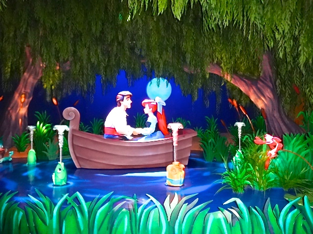 The Little Mermaid Attraction at Disney Magic Kingdom