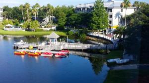 Marriott Cypress Harbour Boat Dock