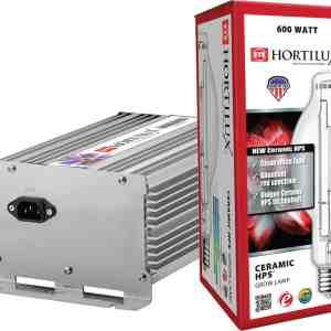 Hortilux Ceramic HPS 600 Lamp and Ballast Kit