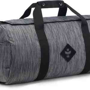 The Overnighter Small Duffle, Striped Black