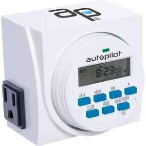 7 Day Dual Outlet Digital Timer