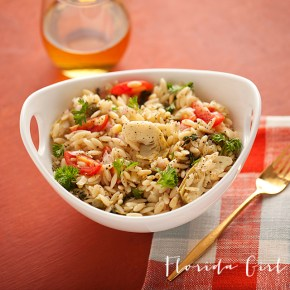 italian orzo pasta salad, pasta salad, summer entertaining, summer, Italian cooking