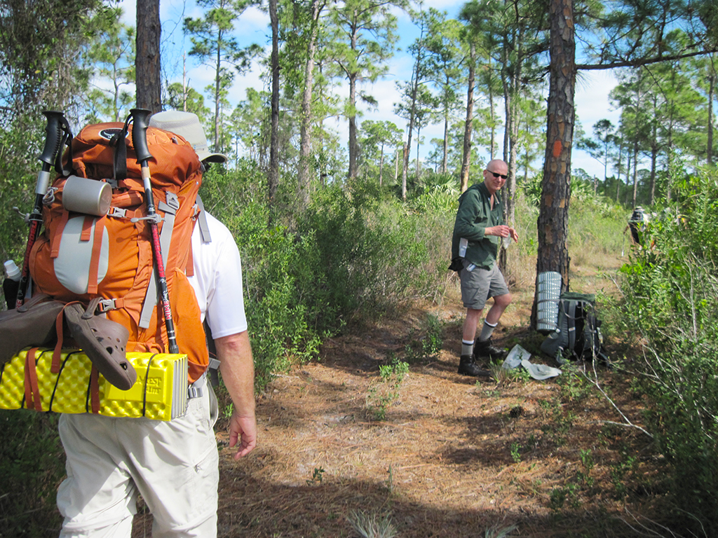 Backpacking In Florida
