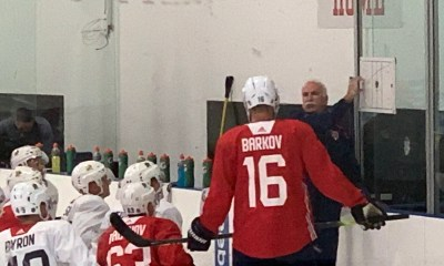 Joel Quenneville Panthers training camp