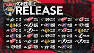 Florida Panthers schedule