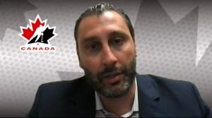 Roberto Luongo Canada Olympic