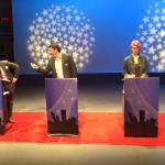 Jesse Wilson, Lawyer John Phillips and Kerry Spectman at 2015 Mayoral Debate