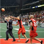Jacksonville Sharks Lawyer Touchdown