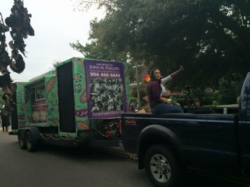 Jacksonville Pride Parade Boombox