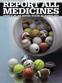 Report All Medicines NCAA