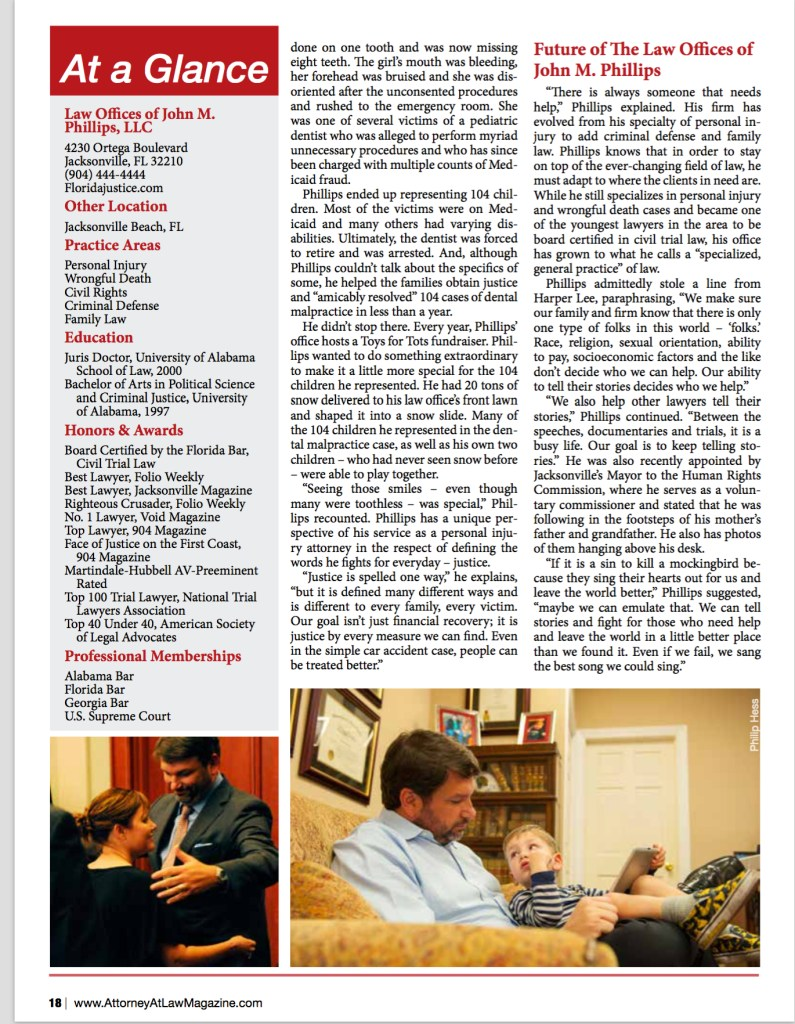 Attorney at Law Magazine p. 4