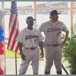 Jacksonville Jumbo Shrimp Uniform Debut with John Phillips