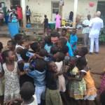 Peace Jam Ghana 2016: John Phillips Africa Hug