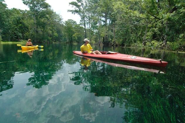 Silve Springs Kayaking