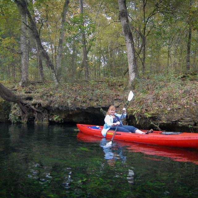 Kayaking the Ichetucknee
