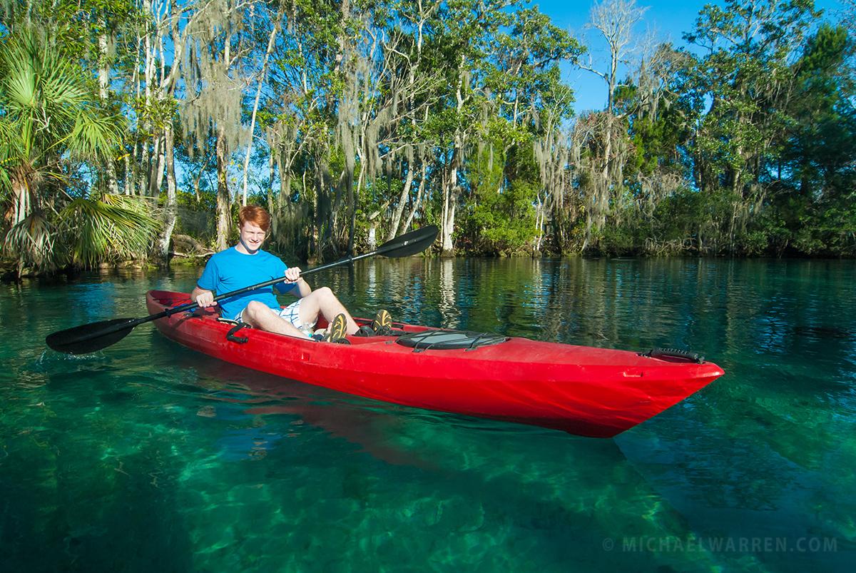 Three Sisters Springs Kayaking