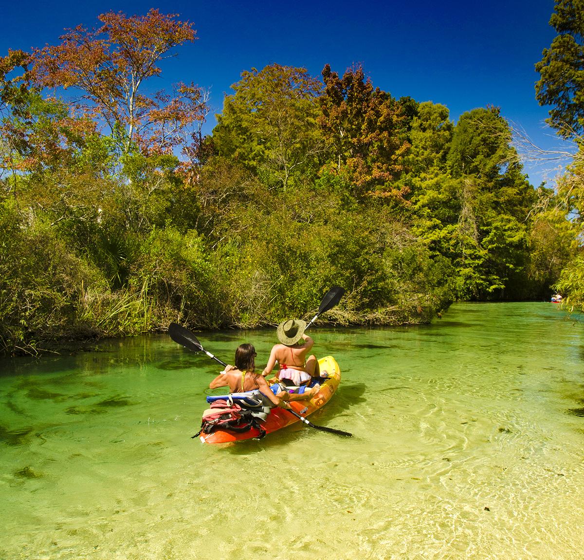 Weeki Wachee River Kayaking