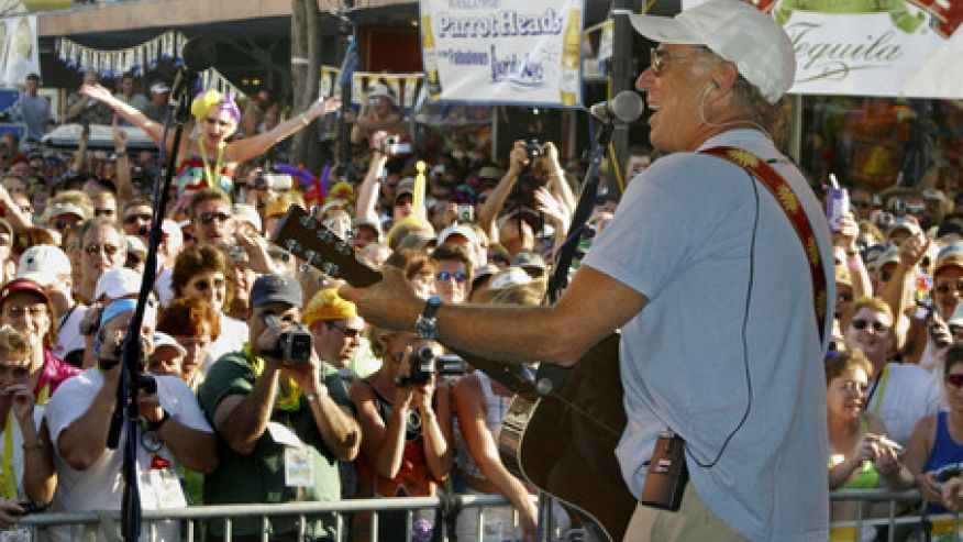 Jimmy Buffett to Play the San Carlos in Key West - For Free