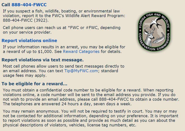 FWC Reporting