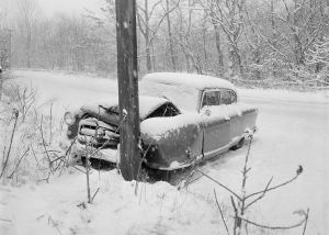 Auto Accident in Snow - Jobs