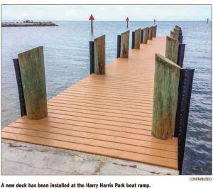 Harry Harris Park Dock
