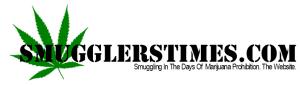 Smugglers' Times: Smuggling In The Days Of Marijuana Prohibition. Logo for website. SmugglersTimes.com