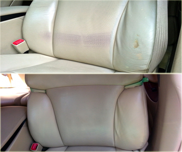 Best Leather Repair Service Before and After pictures  Florida and Miami Leather Repair