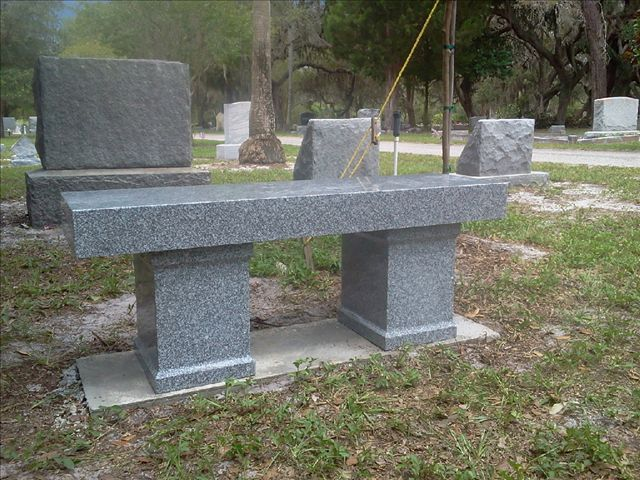 Memorial And Cremation Benches  Floridamonumentcom