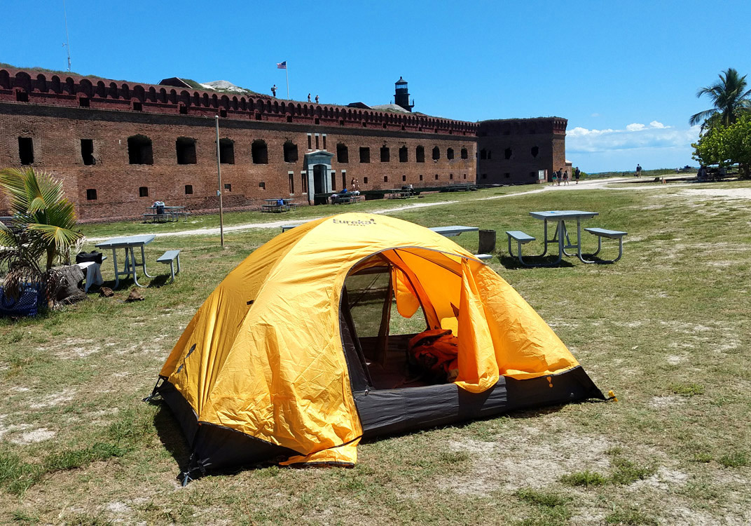 Camping In Dry Tortugas Florida National Parks Association