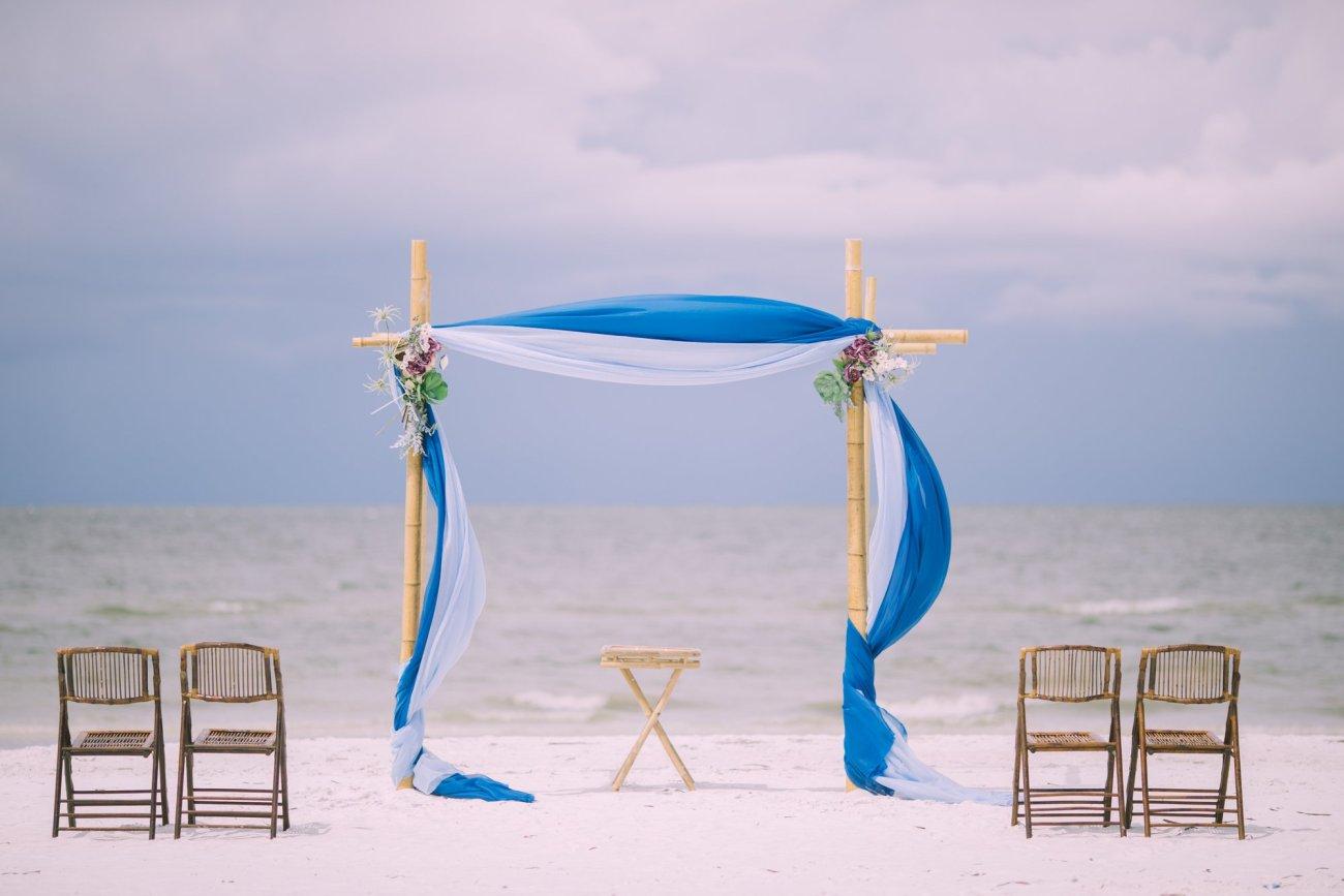 cheap-beach-wedding-fort-lauderdale-2 Deep Blue Wedding Arbor