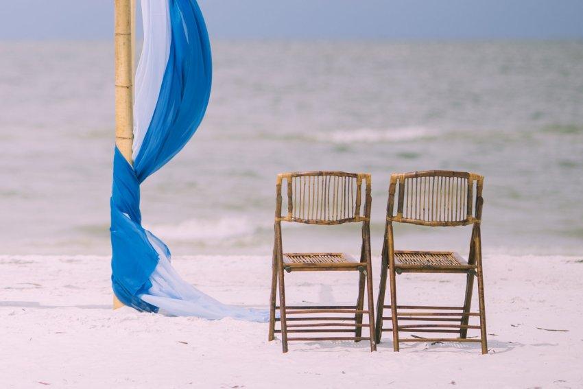 cheap-beach-wedding-fort-lauderdale-3 Deep Blue Wedding Arbor