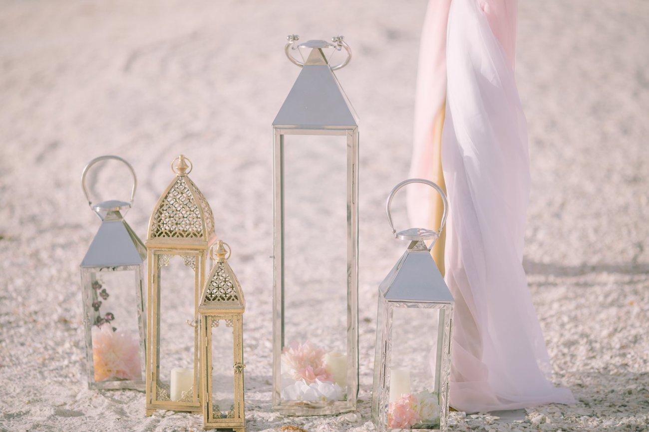 fort-lauderdale-beach-wedding-decoration Artistic Pink Beach Wedding Decoration