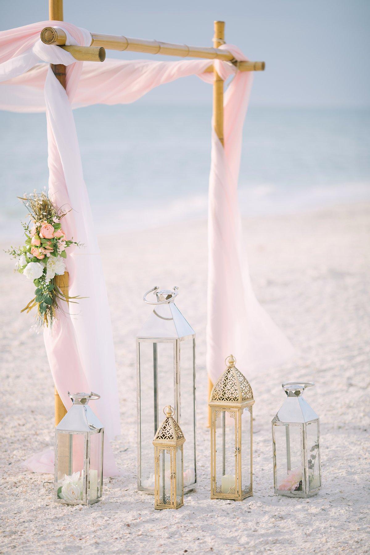 ft-myers-miami-fort-lauderdale-florida-beach-wedding-decoration-3 Artistic Pink Beach Wedding Decoration