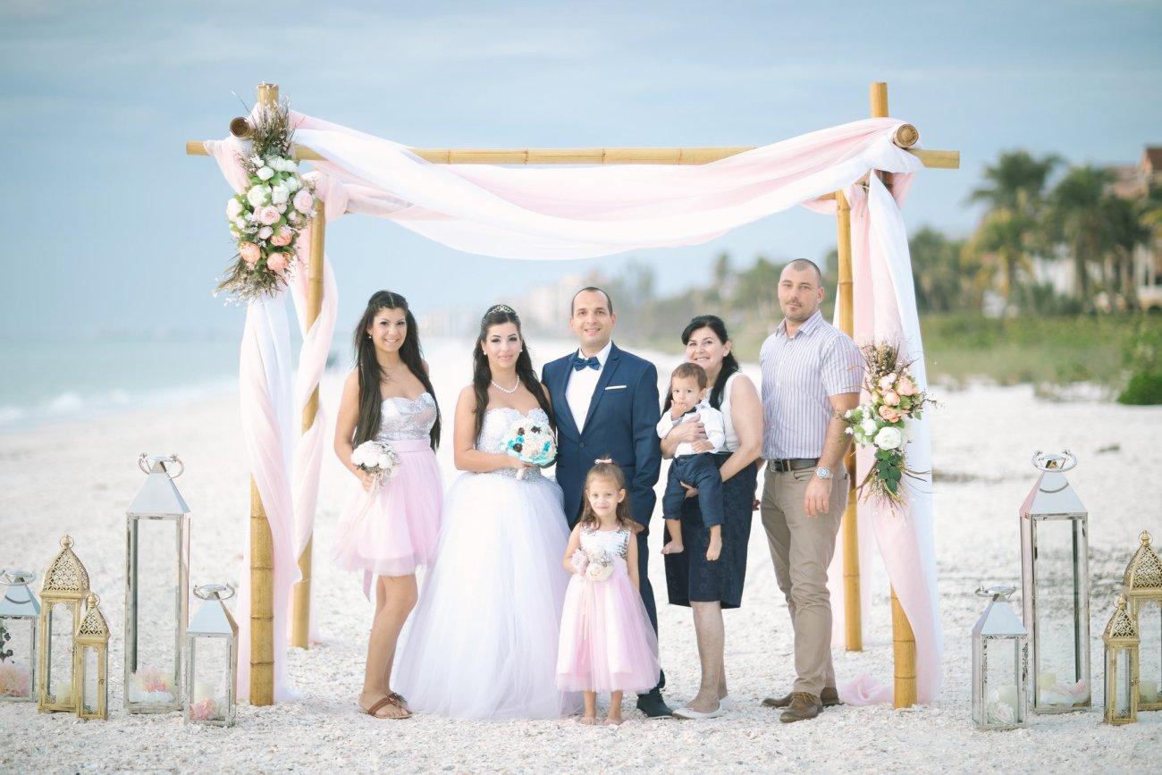 ft-myers-miami-fort-lauderdale-florida-beach-wedding-decoration-8 Artistic Pink Beach Wedding Decoration