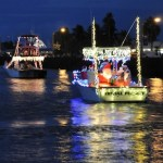 Dazzling holiday boat parades in Florida