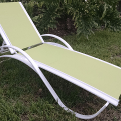 Sling Chaise Lounge Chair Executive Staples Garden Green
