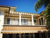 Attached Balcony Pergola | Florida Pergola