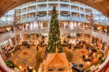 Grand Floridian Hotel at Christmas