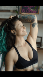 Katt trains at Sensual Souls Hollywood, Fl and is Self Trained. She has been doing Aerial Artist for Five Years. Women who Aren't Afraid of their Power Inspire her.