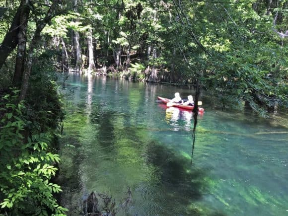 Kayaking at Ichetucknee Springs State Park. (Photo: Bonnie Gross)