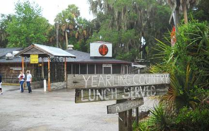 The Yearling restaurant near Marjorie Kinnan Rawlings Cross Creek home.