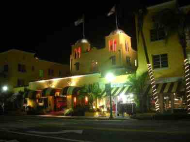 Colony Hotel on Delray Beach's Atlantic Avenue