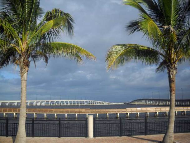 Punta Gorda and its two bridges over the Peace River